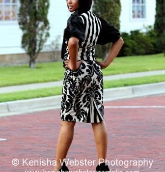 Vest-$270, Pencil Skirt-$280, Bow Blouse-$275. Estimated price $825